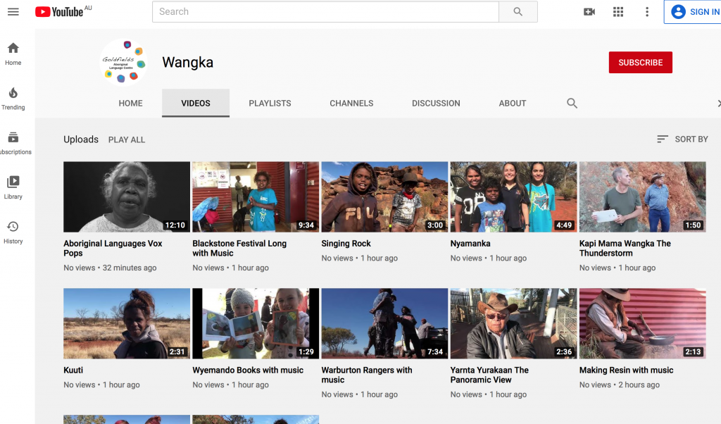 Wangka Youtube Channel