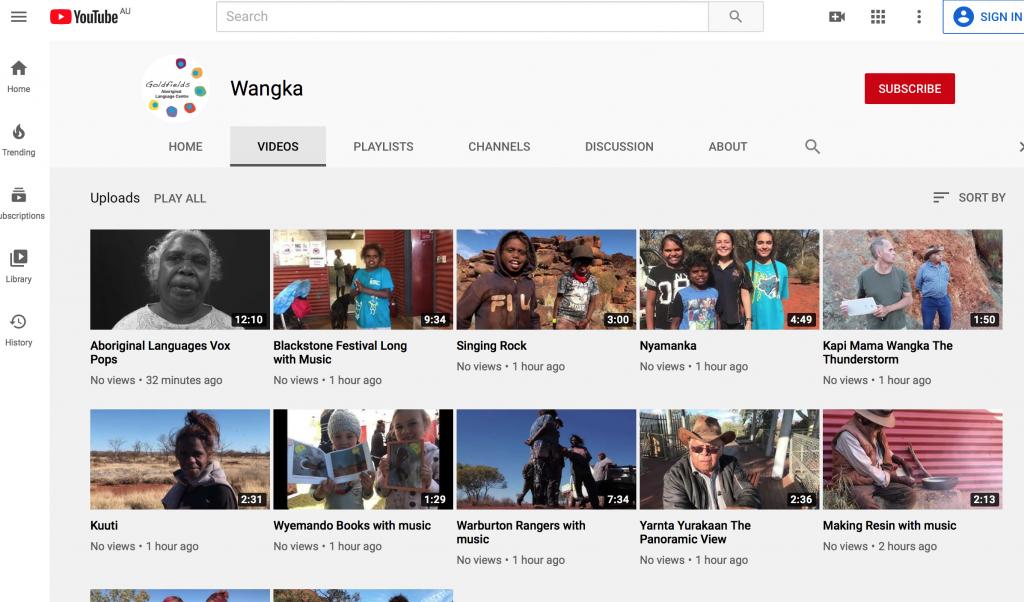 Wangka Youtube Channel