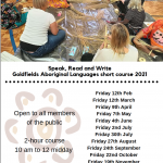 Speak, Read and Write Goldfields Aboriginal Languages course 2021